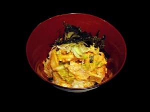キムマヨ丼